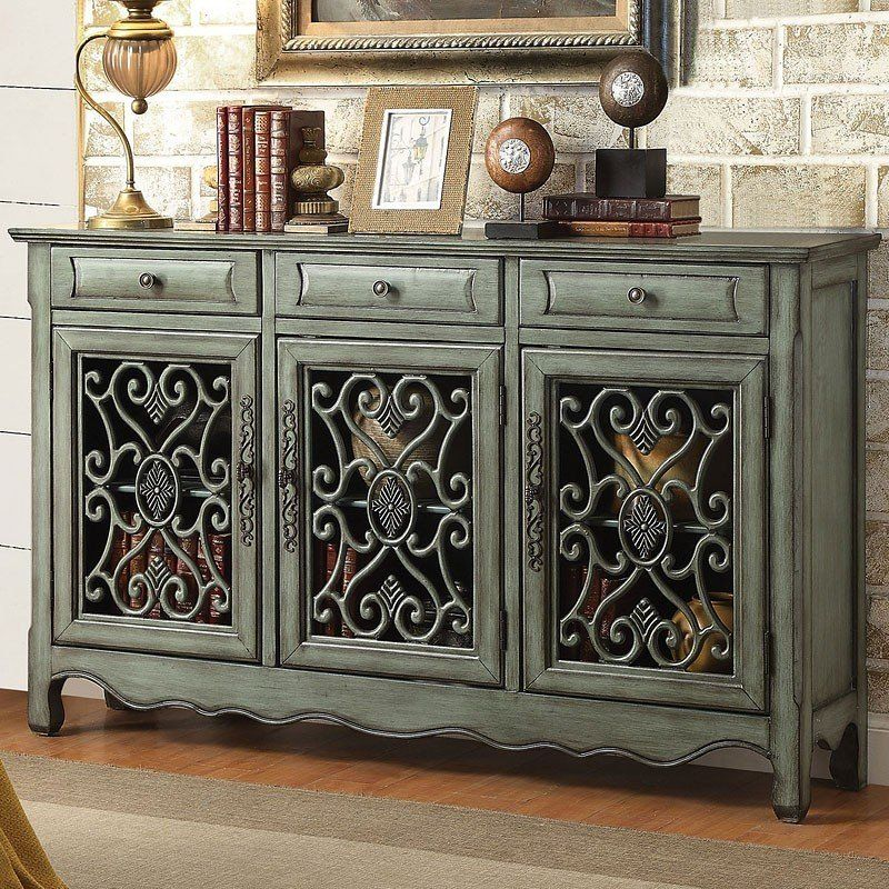 Best Antique Green Accent Cabinet Accent Chests Cabinets 400 x 300