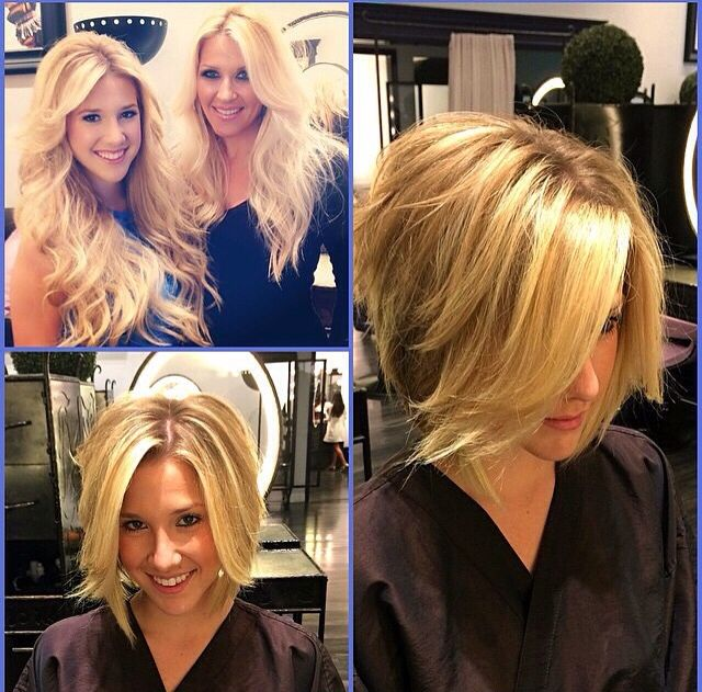 Savannah Chrisley S Hair Hair Styles Trendy Short Hair Styles Short Hair Styles