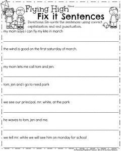March First Grade Worksheets 2nd Grade First Grade First Grade