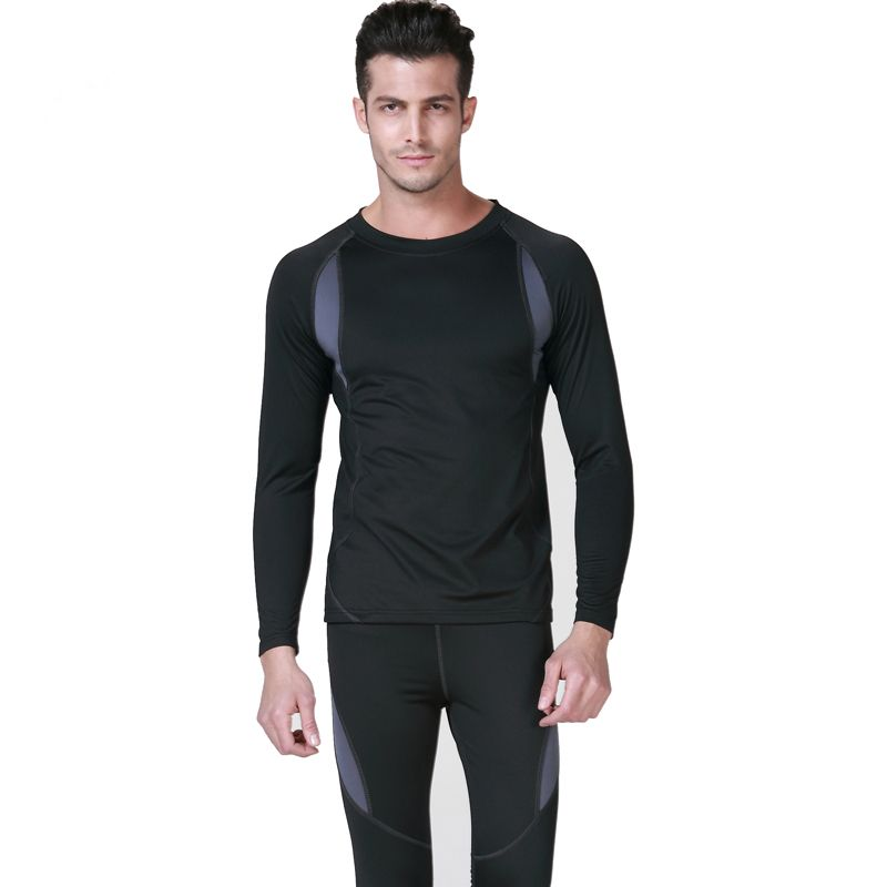 High Quality Mens Thermal Underwear Winter Cotton Long Johns Brand ...