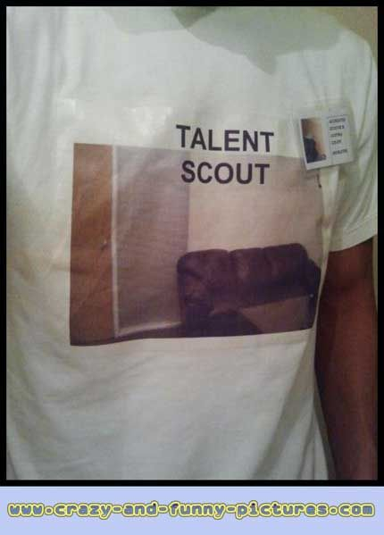 Funny Halloween Costume Pictures: Talent Scount Couch... View the best Funny Costume Photos, Funny Costume Images. Check out the hilarious updates of pics every day.