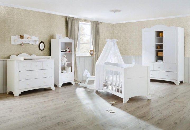 Pinolino Kinderzimmer Pino Kiefer massiv \/ weiß lasiert - pinolino babyzimmer design