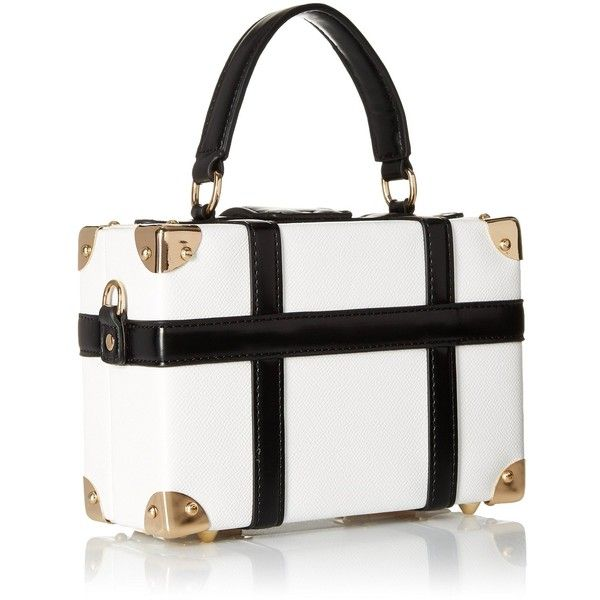 f6c6e0d6d3 Aldo Sunsapote Clutch, White/Black, One Size: Handbags: Amazon.com ...