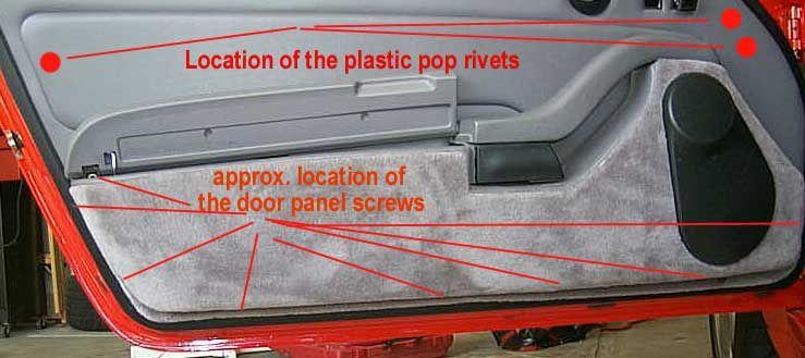 Doorpanel Panel Doors Porsche 993 Paneling