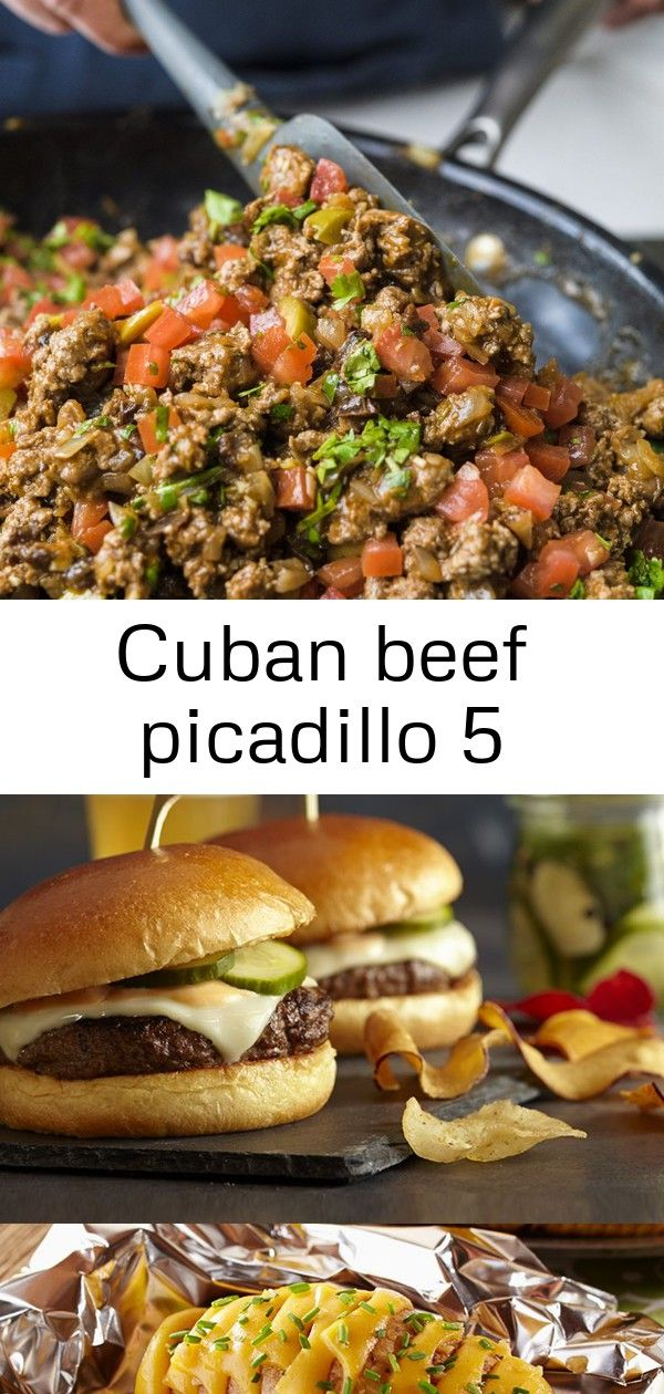 Cuban beef picadillo 5 Cuban Picadillo Step 3 Theres no better way to enjoy your longawaited summer weekends than with grilled burgers chicken and sides Instant Pot Cabba...
