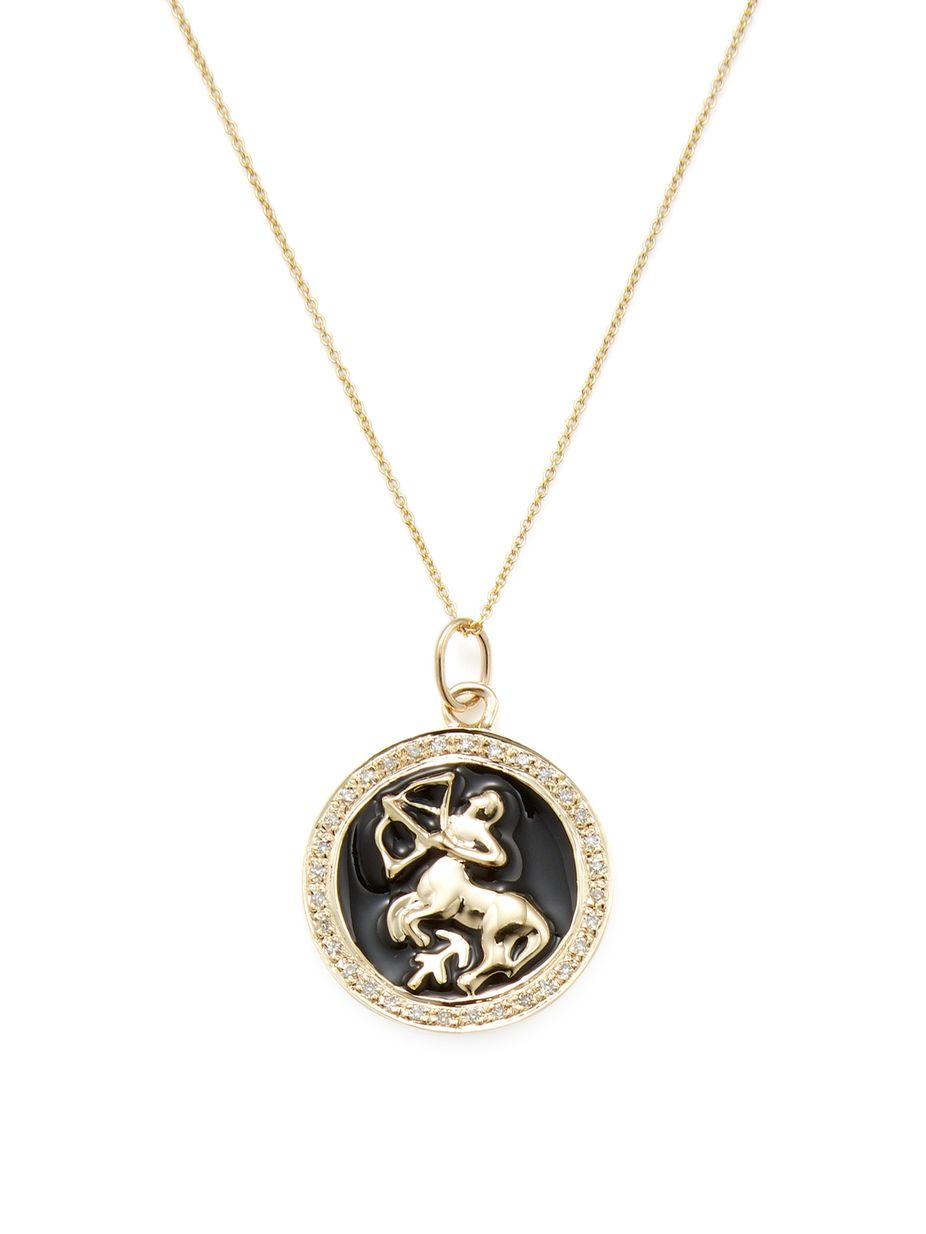 jewelry cam necklace plated gold zodiac ascending medallion pisces gunnarhaus astrological products chain