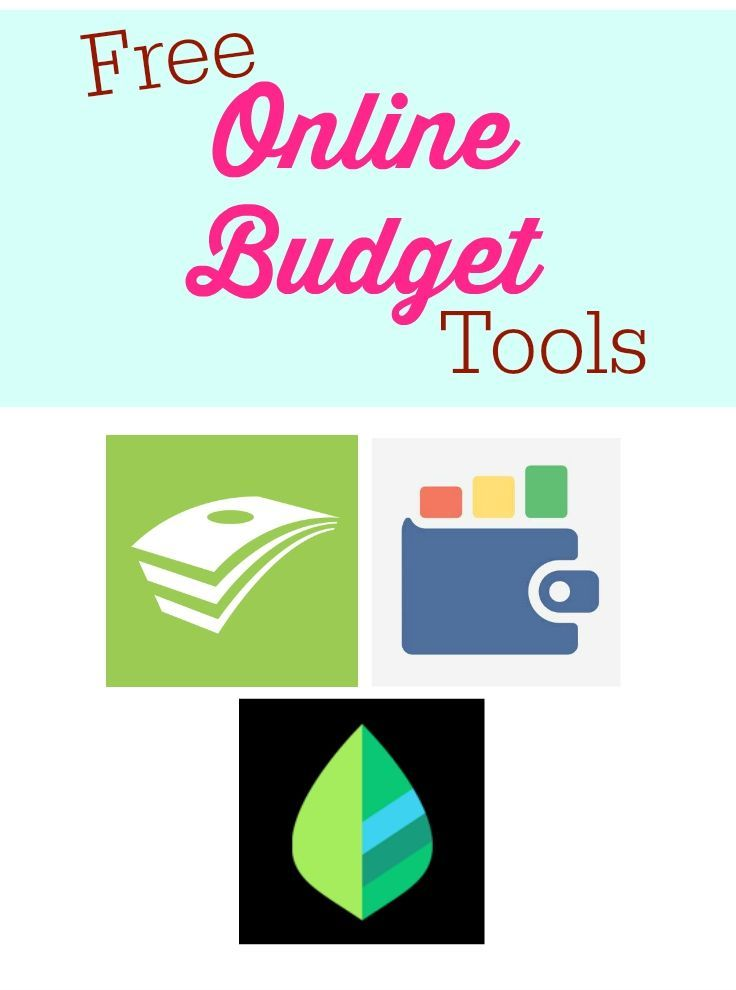 3 Free Online Budget Tools - These tools are great for helping you