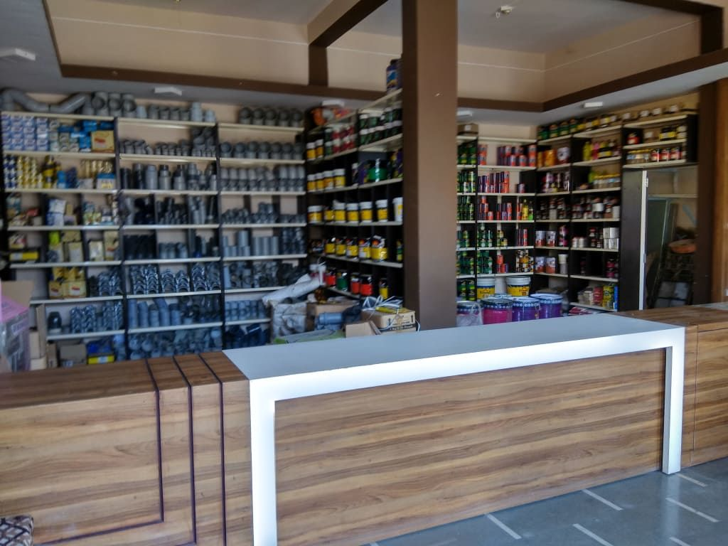 Hardware Shop Interior At Sanawad Modern Study Office By