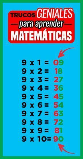 8 Trucos matemáticos que jamás te enseñarán en la