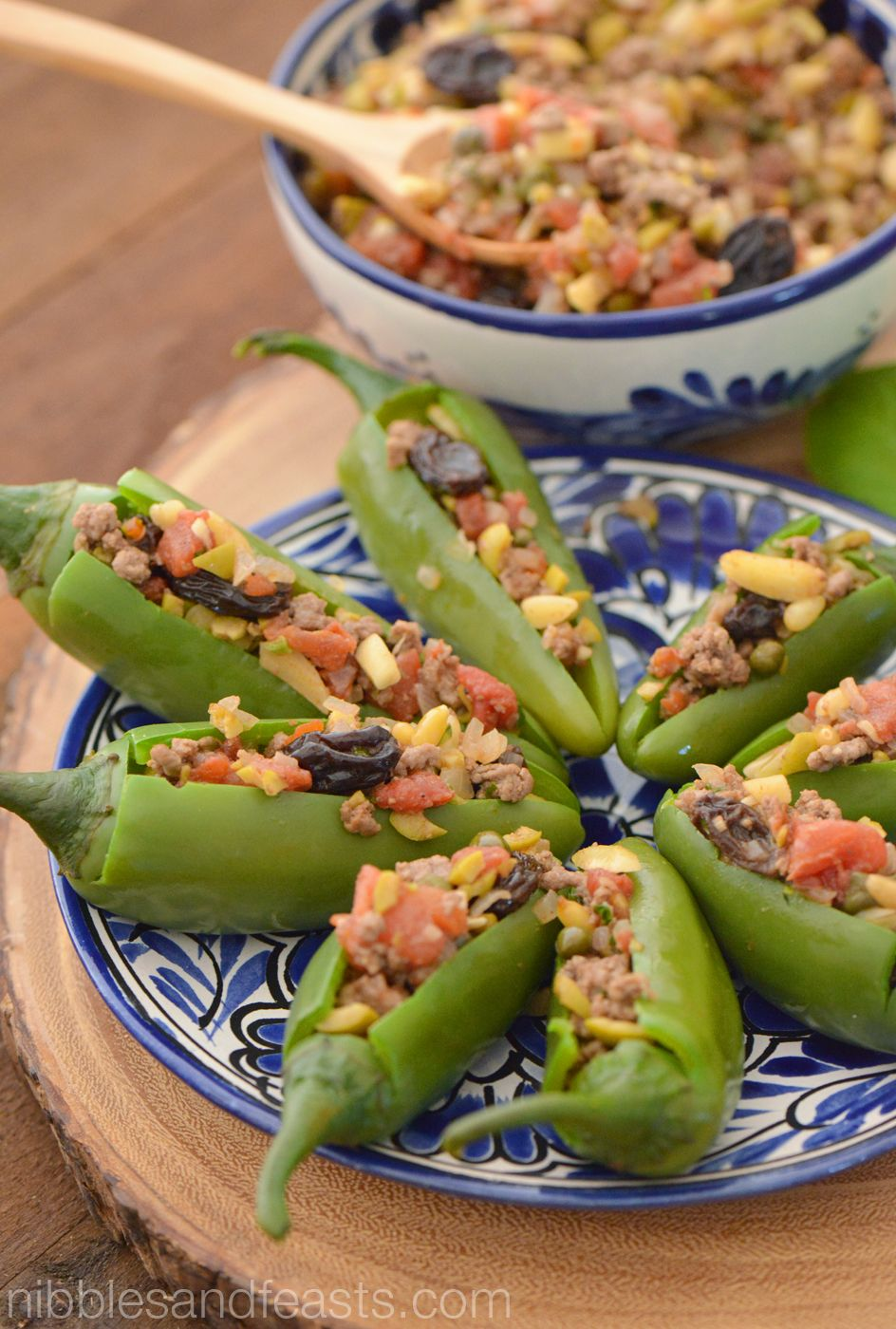 Stuffed Jalapeno Peppers Nibbles And Feasts Recipe Stuffed Jalapeno Peppers Stuffed Peppers Mexican Food Recipes