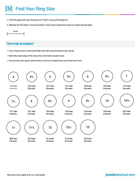 High Quality Diamond Size Chart Template Diamond Size Chart U0026 4 More Tools You Shouldnu0027t  Shop Without