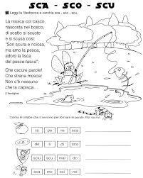 Risultati Immagini Per Scheda Classe Prima Sci Sce Filastrocca