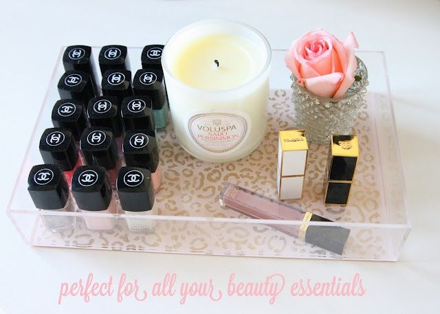 8 ideias ótimas para você organizar suas maquiagens, esmaltes, perfumes e cosméticos