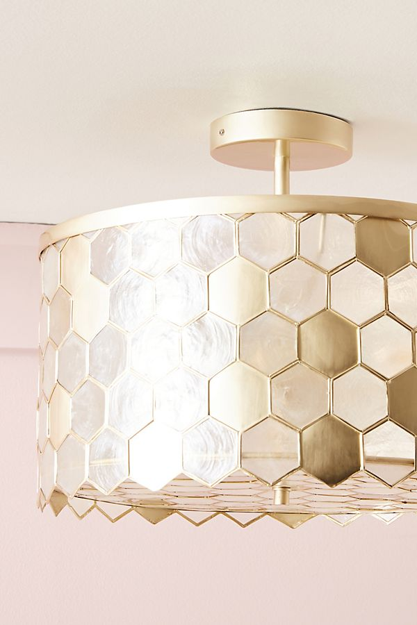 Honeycomb Flush Mount In 2020 Master Bedroom Lighting Flush Mount Ceiling Lights Light Fixtures Flush Mount