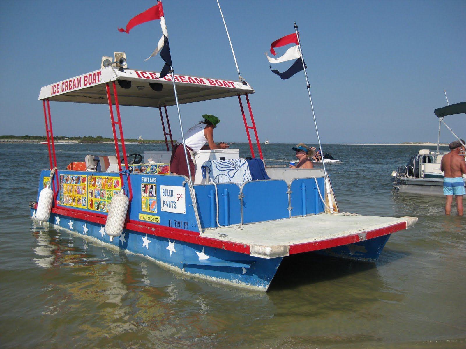City Island Ice Cream Boat | New smyrna beach florida, New ...