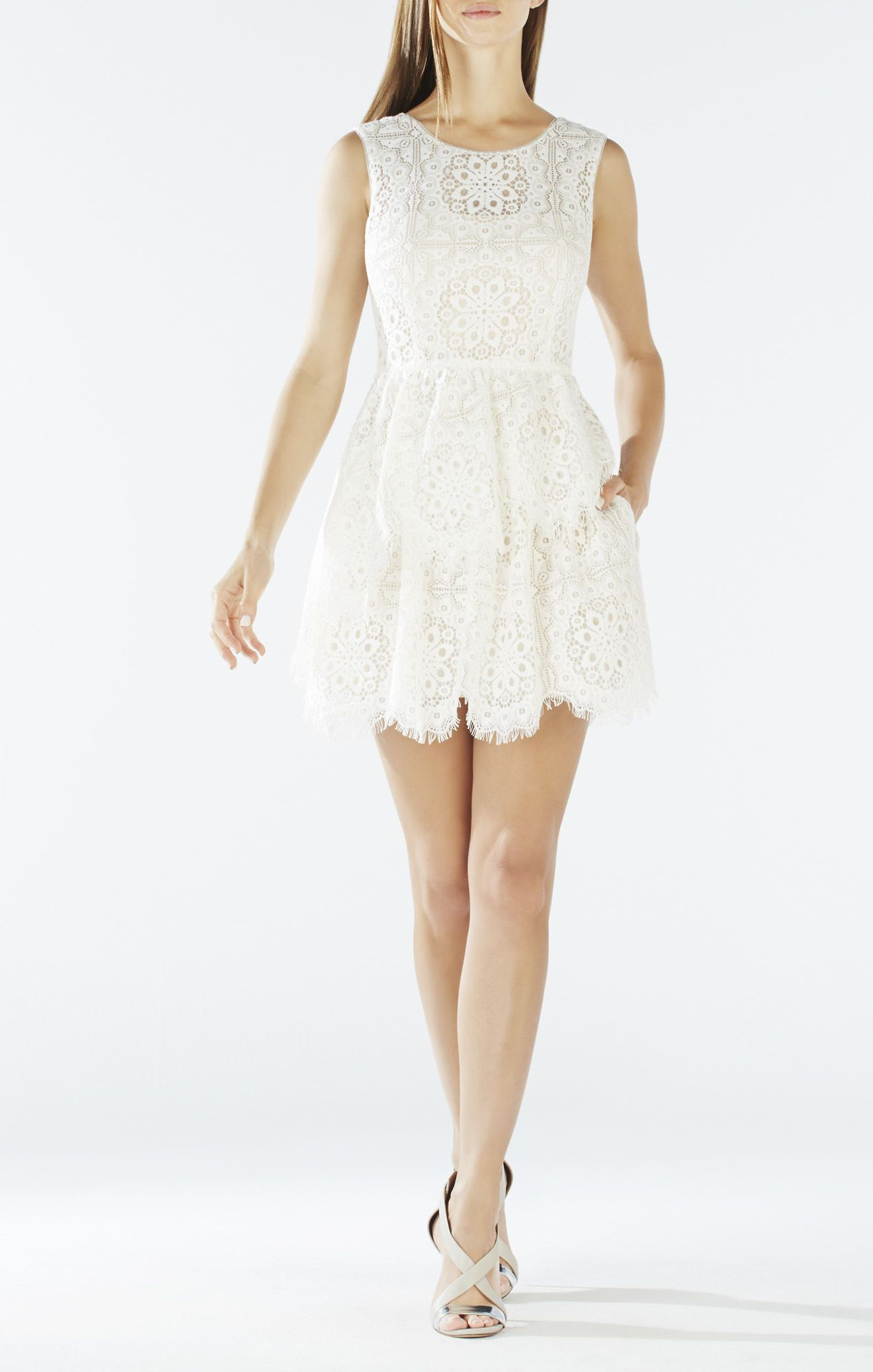 charlee asymmetrical tiered lace dress wedding rehearsal