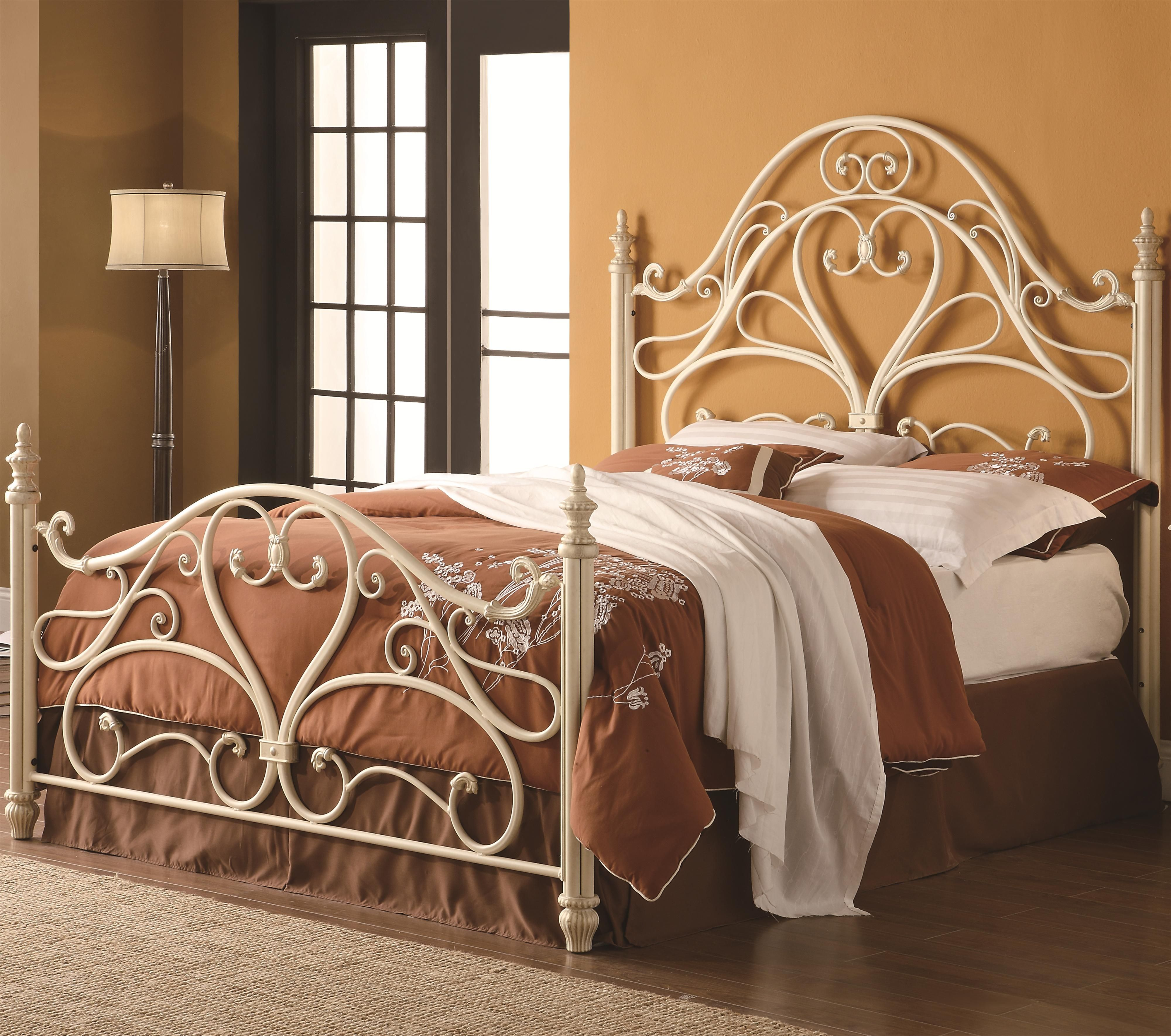 Iron Beds and Headboards Queen Iron Bed by Coaster camas de