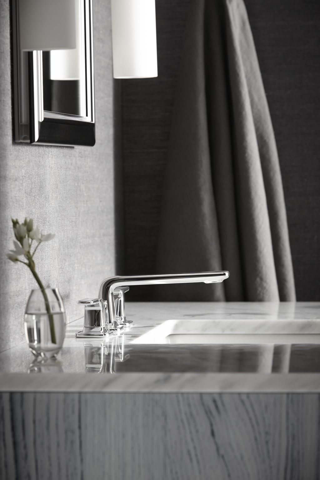The Per Se Widespread Basin Faucet. Elegant modern minimalism from ...