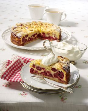 rahm kirsch kr melkuchen rezept backen kuchen brot rezepte pinterest cake desserts. Black Bedroom Furniture Sets. Home Design Ideas