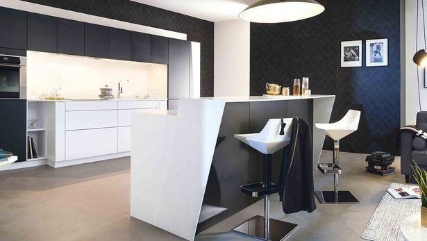 Ambiance Optimale Kitchens - Cuisine Moderne Avec Ilot
