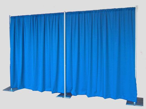 Pipe and Drape Backdrop 8ft x 20ft (Blueberry) ** Want additional info? Click on the image.