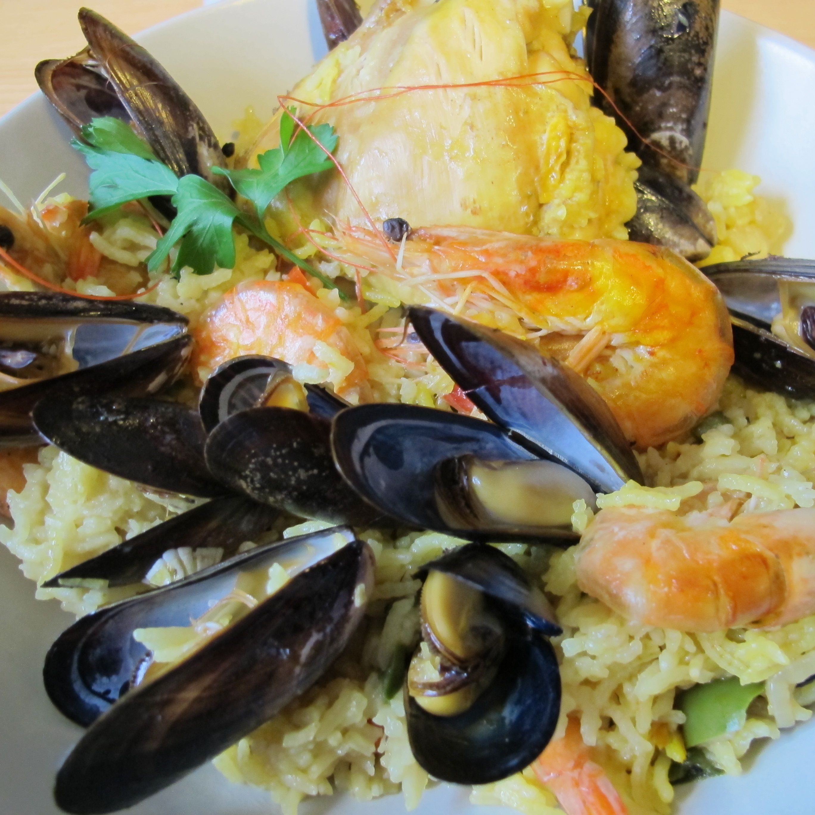 Roaster paella au four facile recettes warmcook warmcook roaster warmcook roaster - Recette paella facile ...