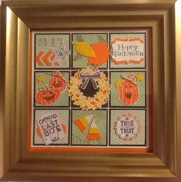 fall fest holiday framed art