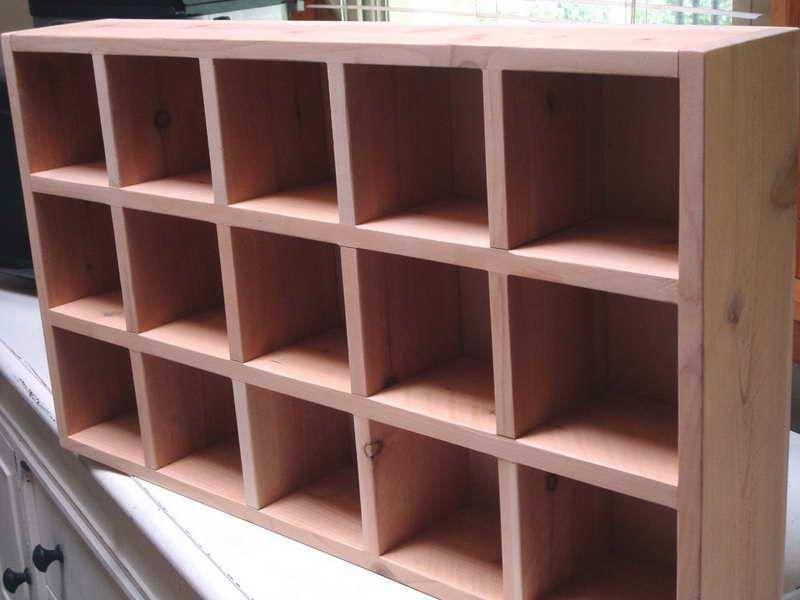 Clybourn Tall 4 Cube Cubby Cubby Storage Cube Storage Storage