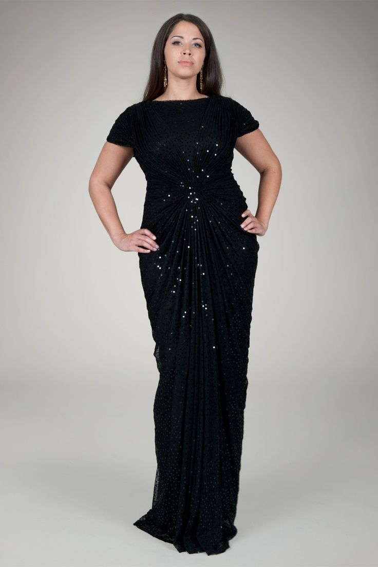 5 plus size black gowns that you will love - page 4 of 5 | gowns
