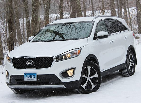 Redesigned 2016 Kia Sorento Suv Steps It Up Kia Sorento Sorento