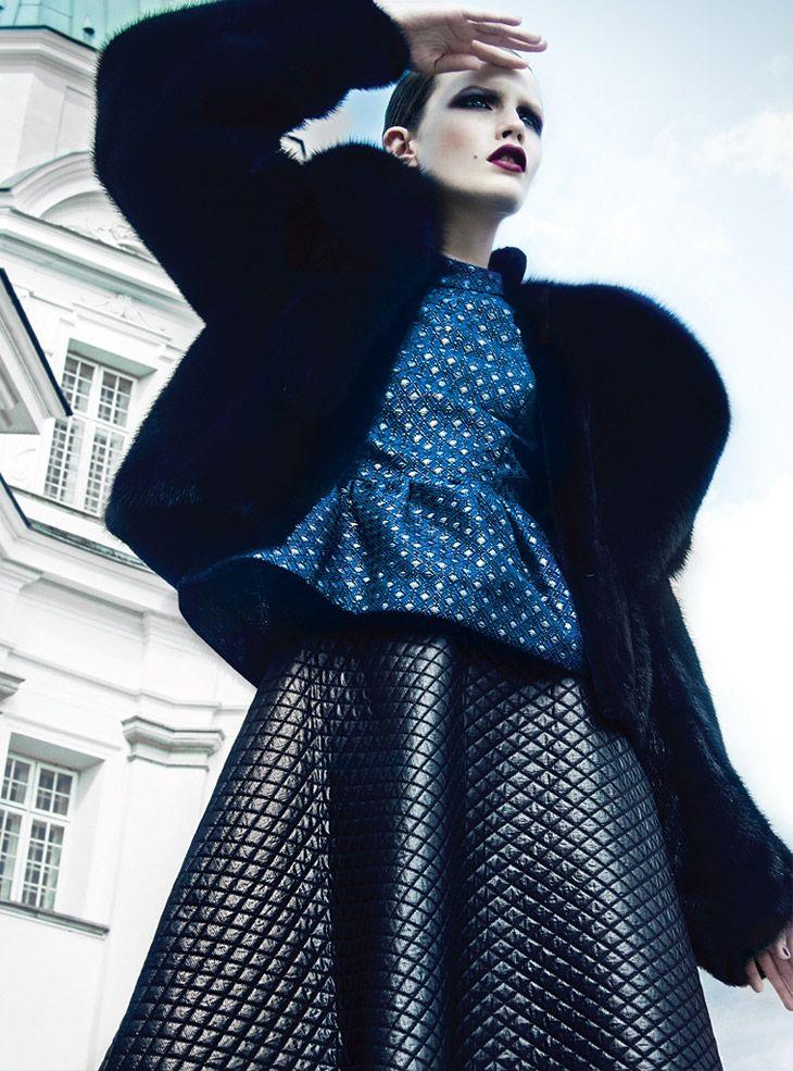 Julia Borawska for Vogue Mexico November 2013 by Kevin Sinclair