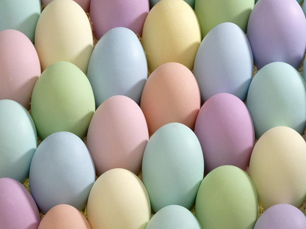 Pastel Easter Eggs Pretty Pastel Easter Spring Pastels