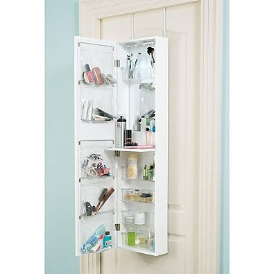 Delicieux Add Smart Storage To Your Home With Door Solutionsu0027 Over The Door Mirror  And Cosmetic Organizer. This Indispensable Organizer Features 5 Trays, ...