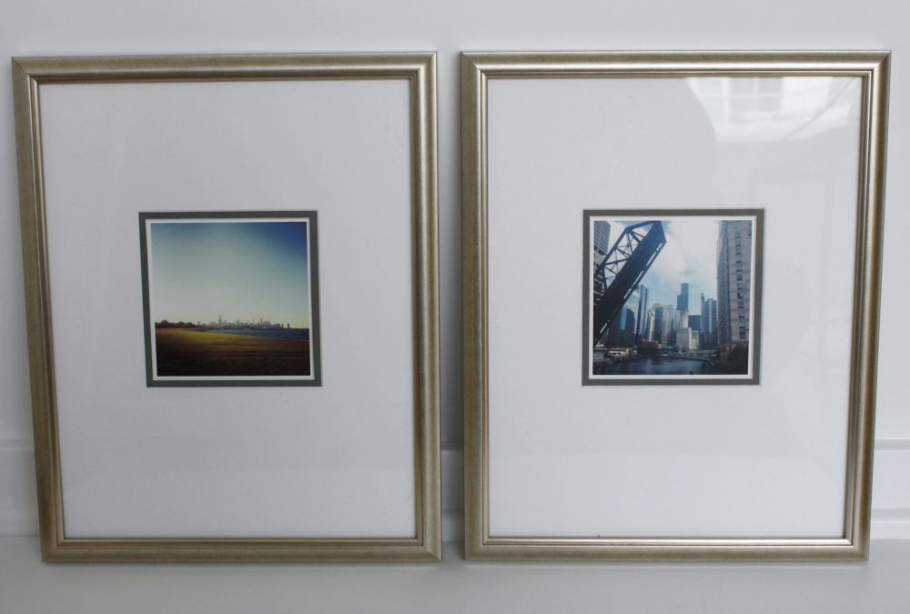 Art Made Easy With Framed Matted Pretty Fun Frame Make It Simple Silver Frame