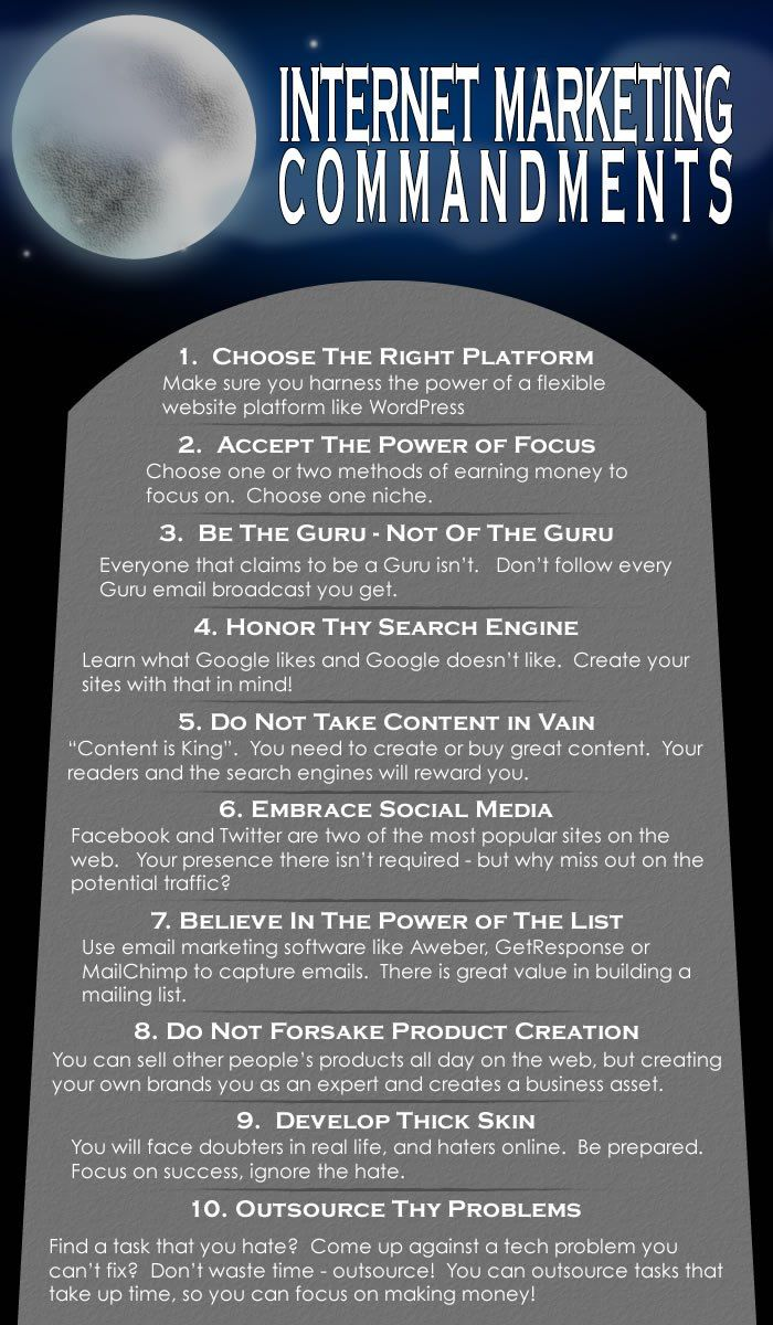 cheeky rules of internet marketing