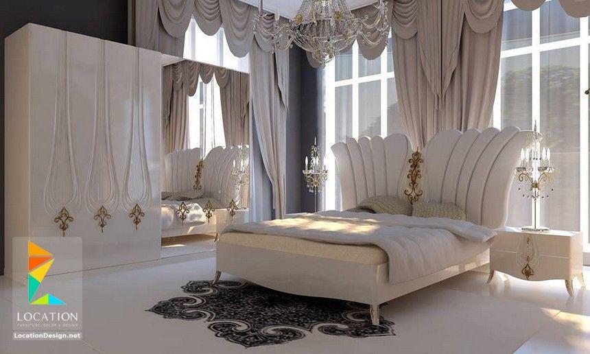 كتالوج غرف نوم مودرن كاملة بالدولاب 2018 2019 لوكشين ديزين نت Luxurious Bedrooms Wooden Bedroom Furniture Bedroom Closet Design