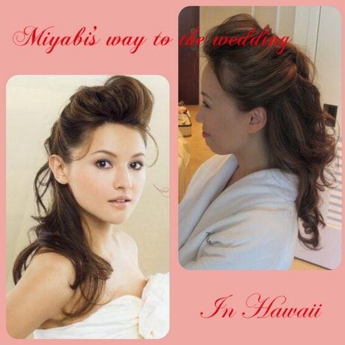 「 【ハワイ滞在3日目】リハーサルメイク③ 」の画像|Miyabi's way to the wedding in Hawaii|Ameba (アメーバ)
