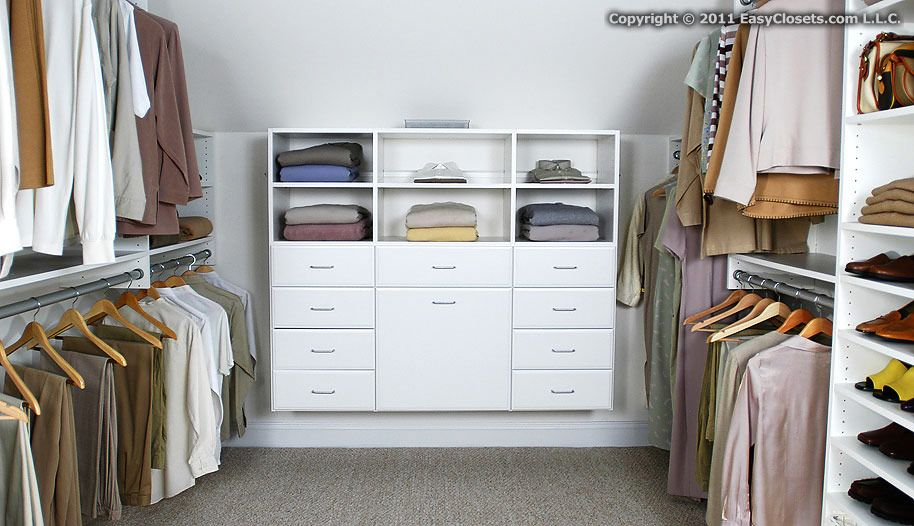 Walk In Closet By EasyClosets.com. Idea For Our Master Closet Re Do. Approx  $1400