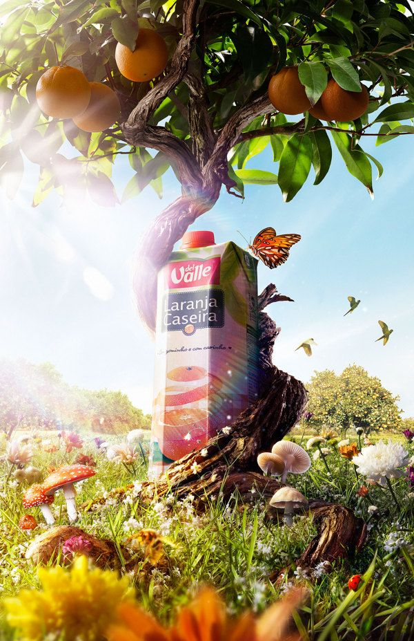 Organic Juice on Behance | Ads creative, Advertising ...