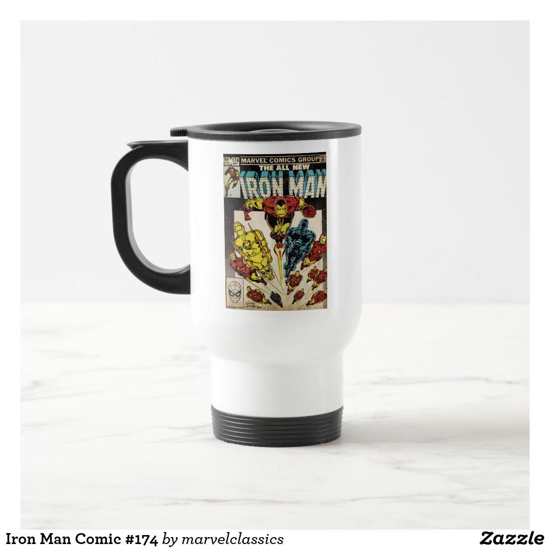Iron Man Comic 174 Travel Mug