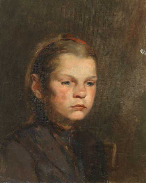 Chapman, Minerva Josephine American (1858-1947) Pikie Furts 1889 Painting Oil on canvas