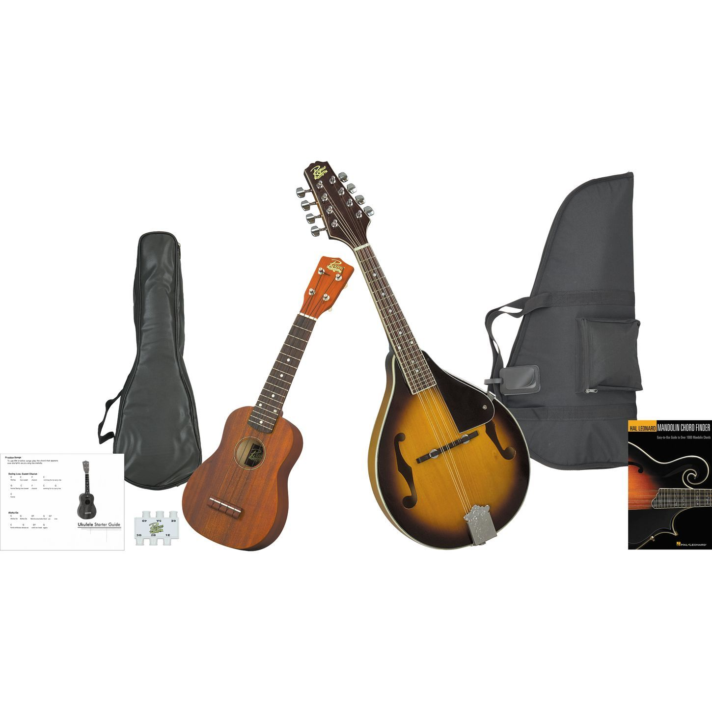 Dean Guitars Ukulele Travel Uke: Mandolin And Ukulele Travel Pack Black (With Images