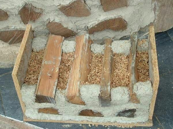 Глина вместо бетона купить полусфера из бетона