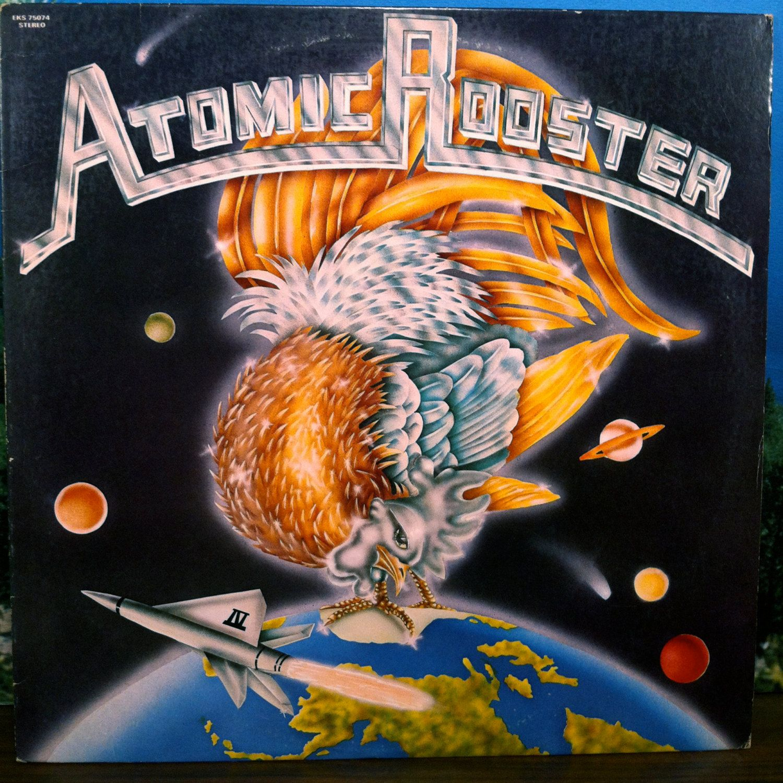 Atomic Rooster IV Vinyl Record LP 1973 Elektra Psych Hard Rock Heavy Stoner by vintagebaronrecords on Etsy