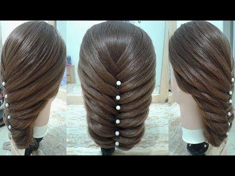 Peinados no se imagina cómo es hermosos y fáciles para fiestas