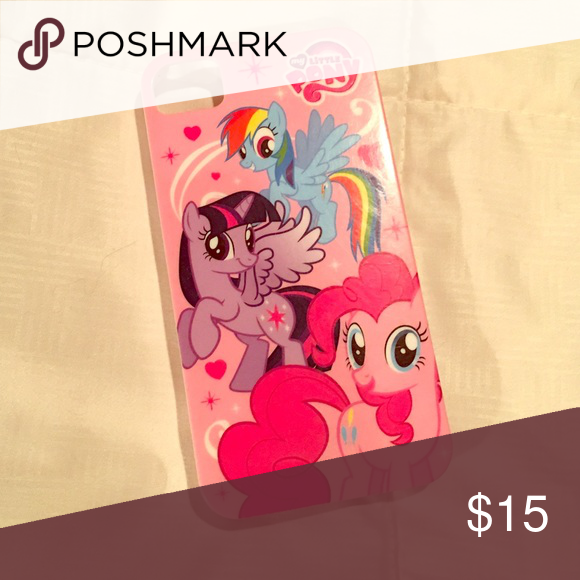 My Little Pony iPhone 5 case in pinks Three iPhone 5 cases in pink, teal & purple. Rainbow Dash. Gently used My Little Pony Accessories Phone Cases