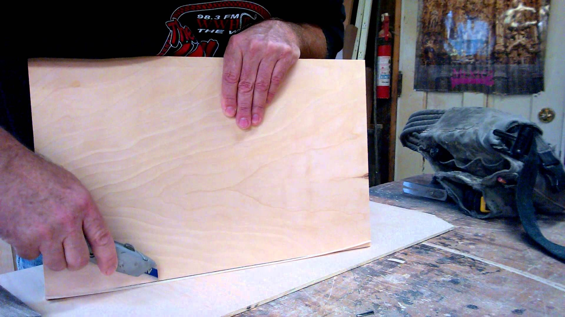 How to Apply and Finish Hardwood Veneer Edging like a Pro