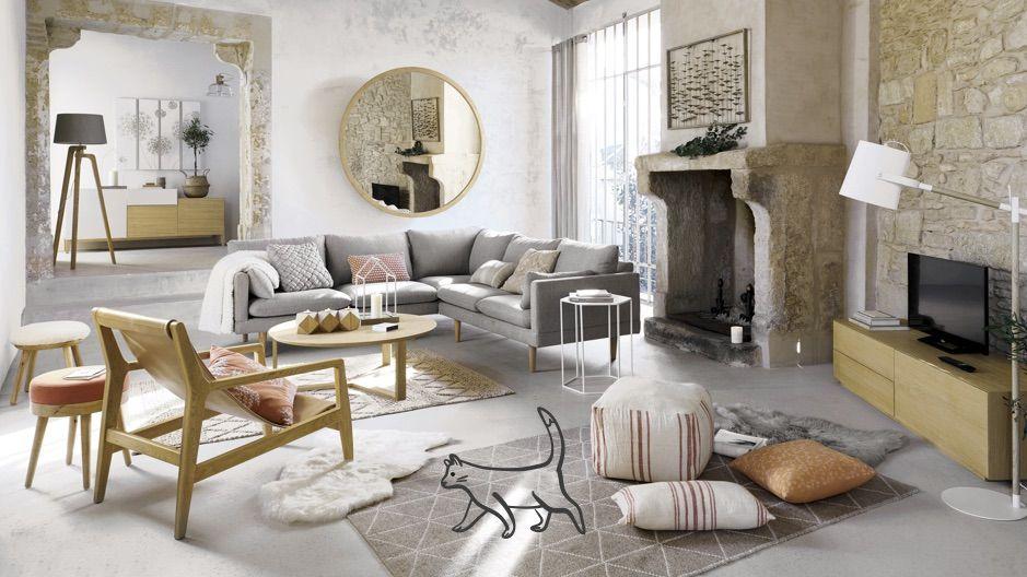 Modern Woonkamer Design : Ontdek de nieuwigheden van de maisons du monde modern design stijl