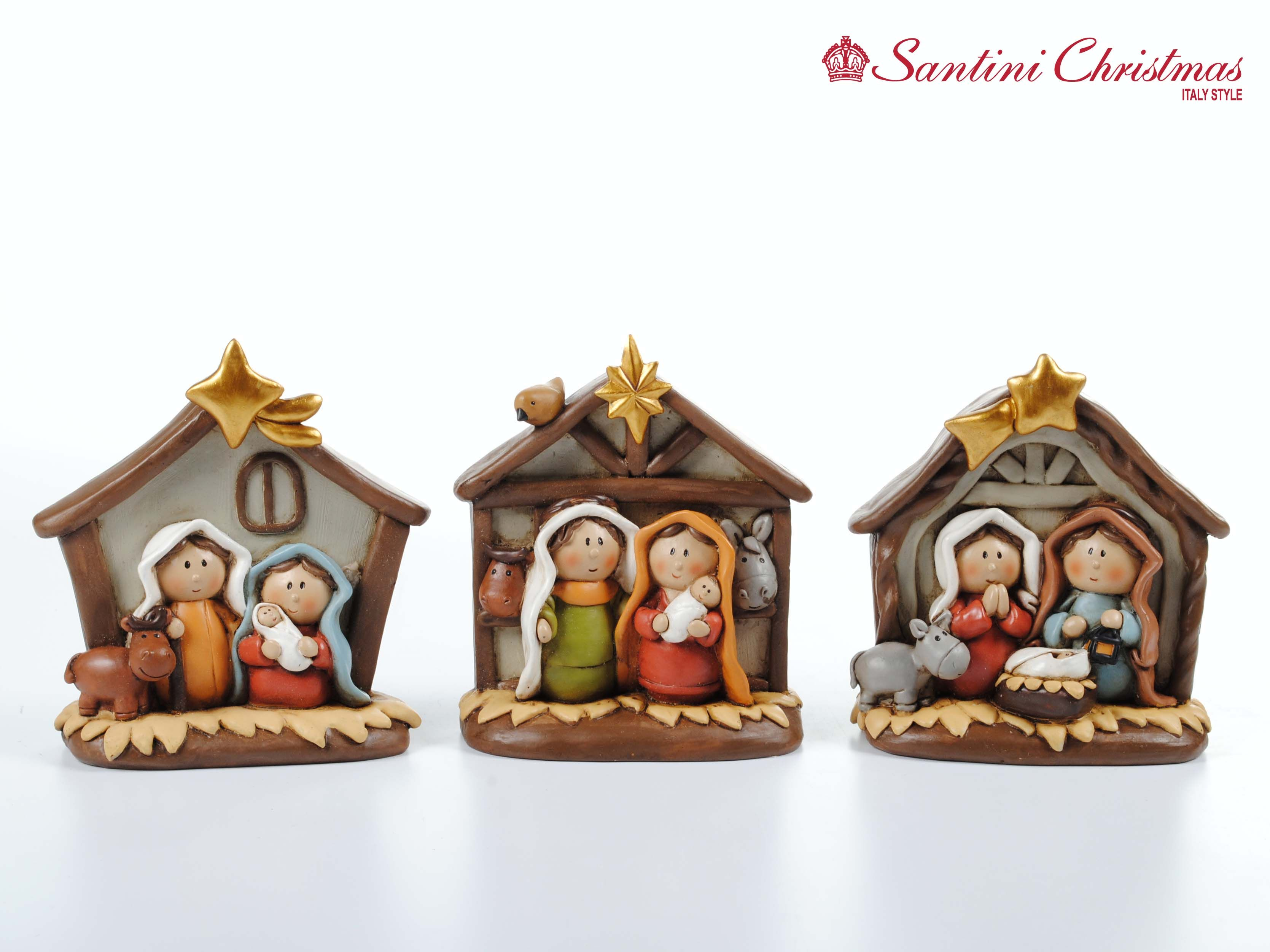 72d91dcc216 como decorar un nacimiento navideño sencillo Pesebres En Porcelana Fria