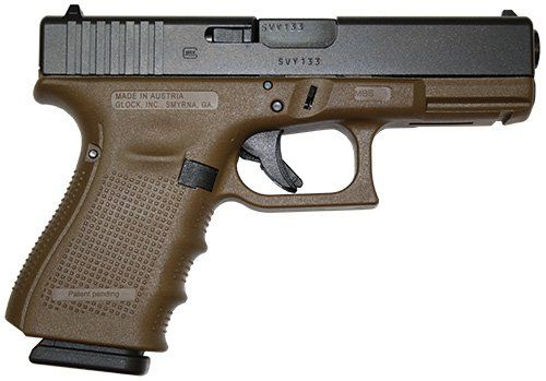 Flat Dark Earth Glock 19 Gen 4 9mm